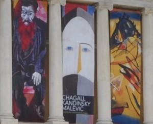 Chagall, Kandinsky, Malevic