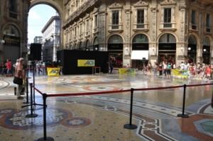 Galleria Vittorio Emanuele, l'Ottagono