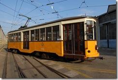 vecchi tram di Milano