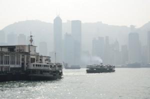 Lo Star Ferry da Tsim Sha Tsui