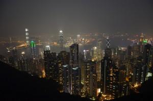Hong Kong vista dal Peak