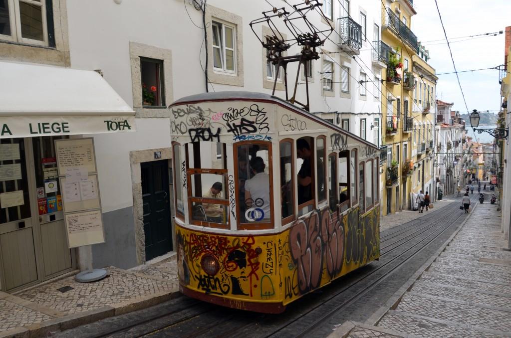 Lisbona, funicolare